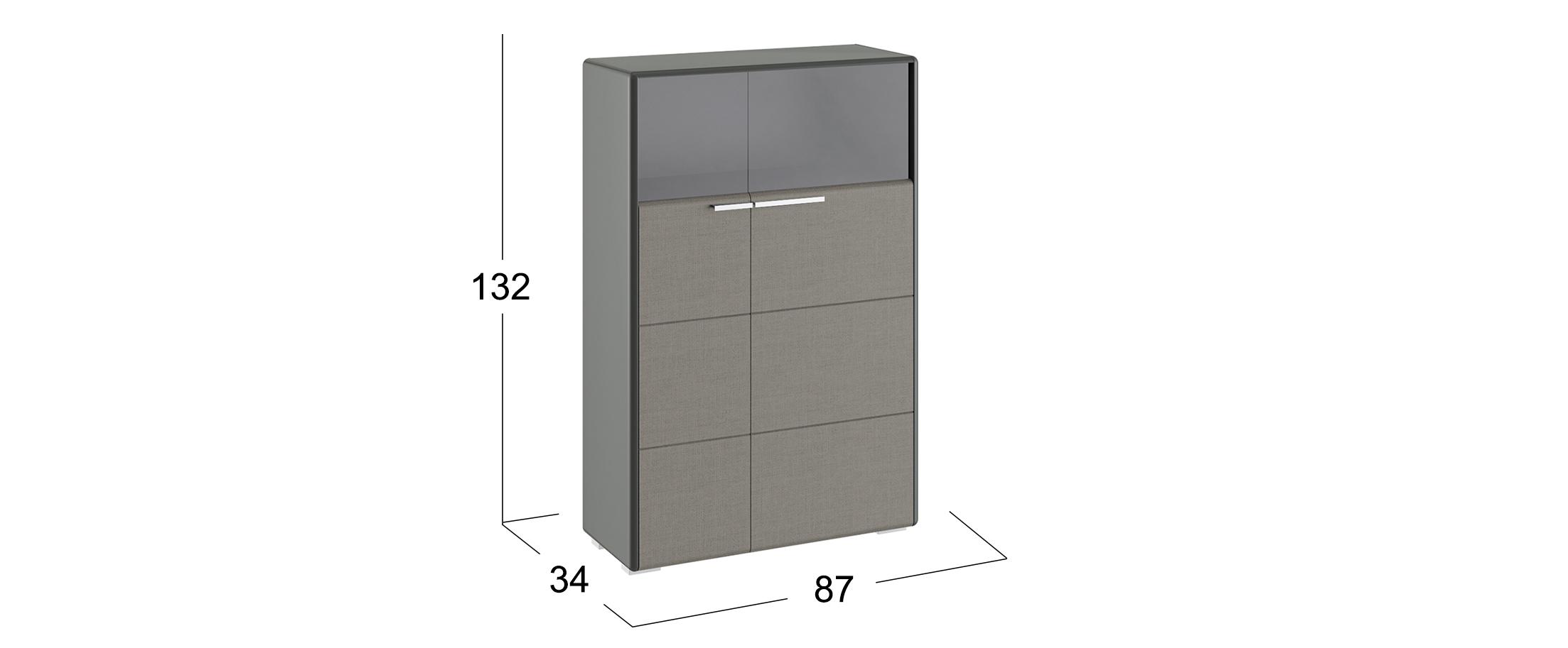 Шкаф Наоми комбинированный 2 двери