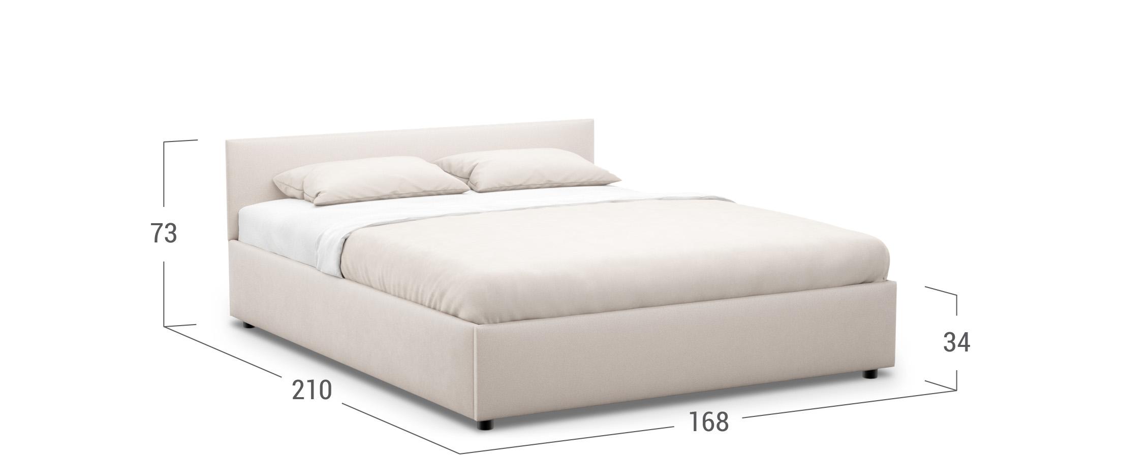 Кровать двуспальная Irida 160х200 Модель 1220