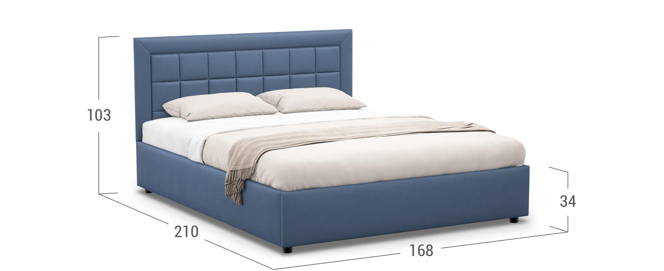 Кровать двуспальная Rion 160х200 Модель 1222