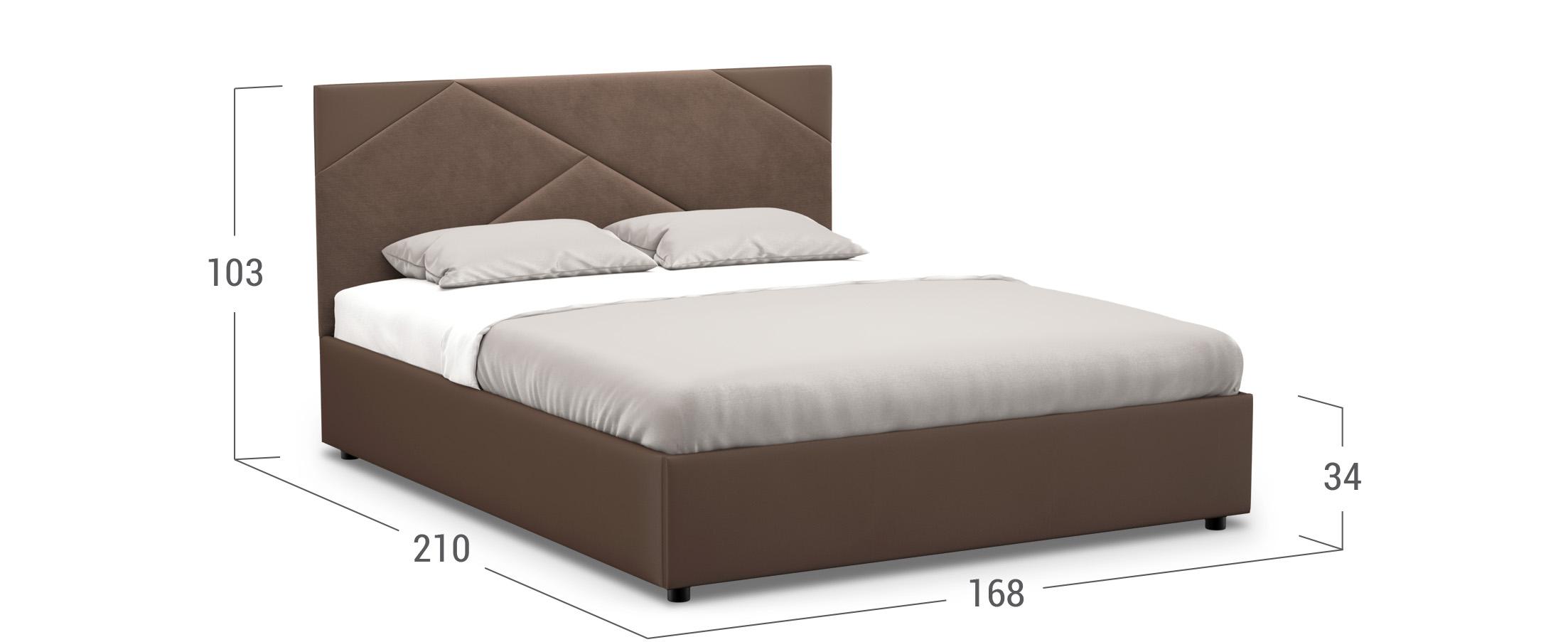 Кровать двуспальная Manisa 160х200 Модель 1226